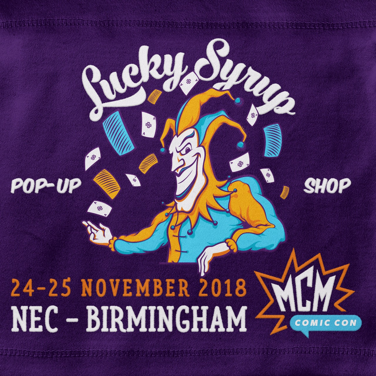 Lucky Syrup Top Quality T-shirts from Berlin | Blog | Upcoming events November 2018