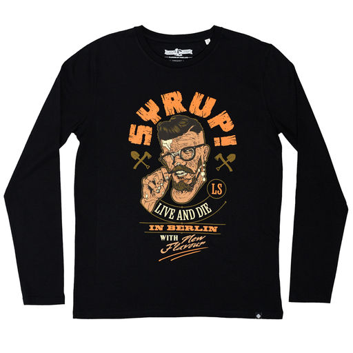 Lucky Syrup Top Quality T-shirts from Berlin | Shop | Live and die in Berlin long