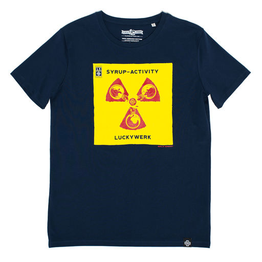Lucky Syrup Top Quality T-shirts from Berlin | Runnin Sky Blue | Syrup activity
