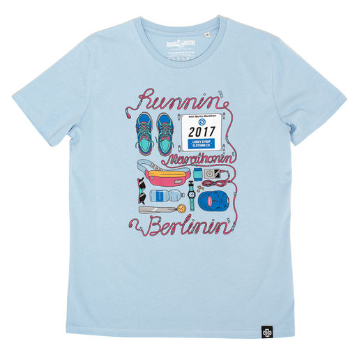 Lucky Syrup Top Quality T-shirts from Berlin | Shop | Runnin Sky Blue