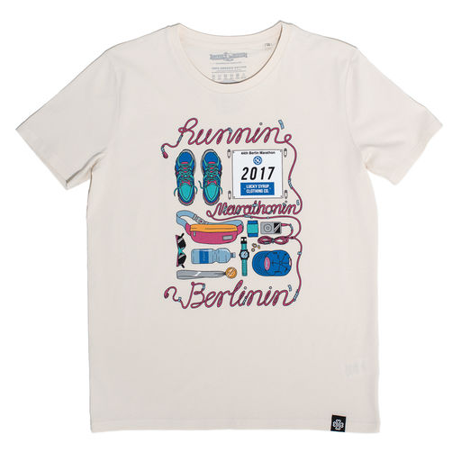 Lucky Syrup Top Quality T-shirts from Berlin | T-shirts | Runnin Vintage White